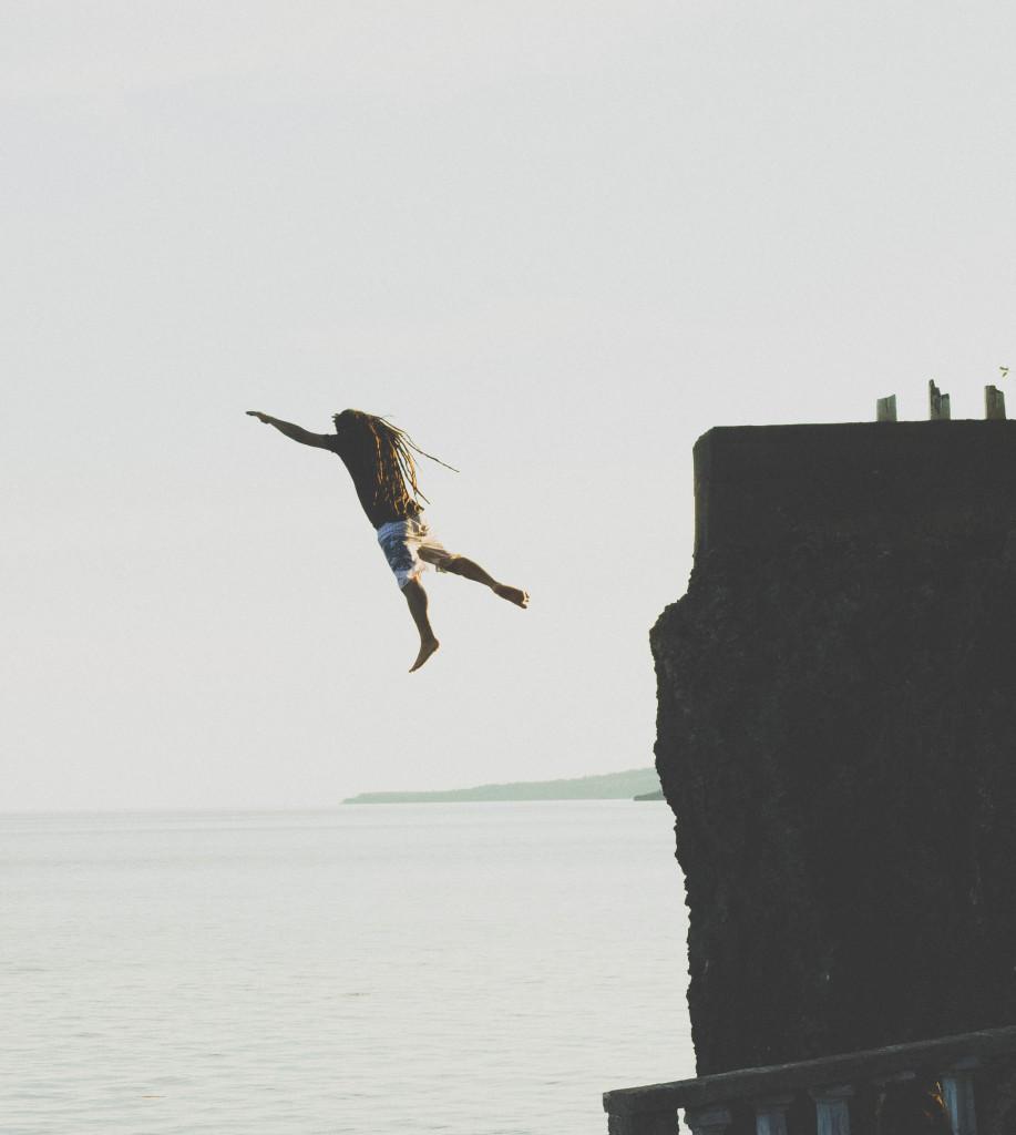 The Predator takes off.