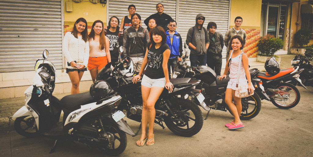 The girls. The riders. The bikes.