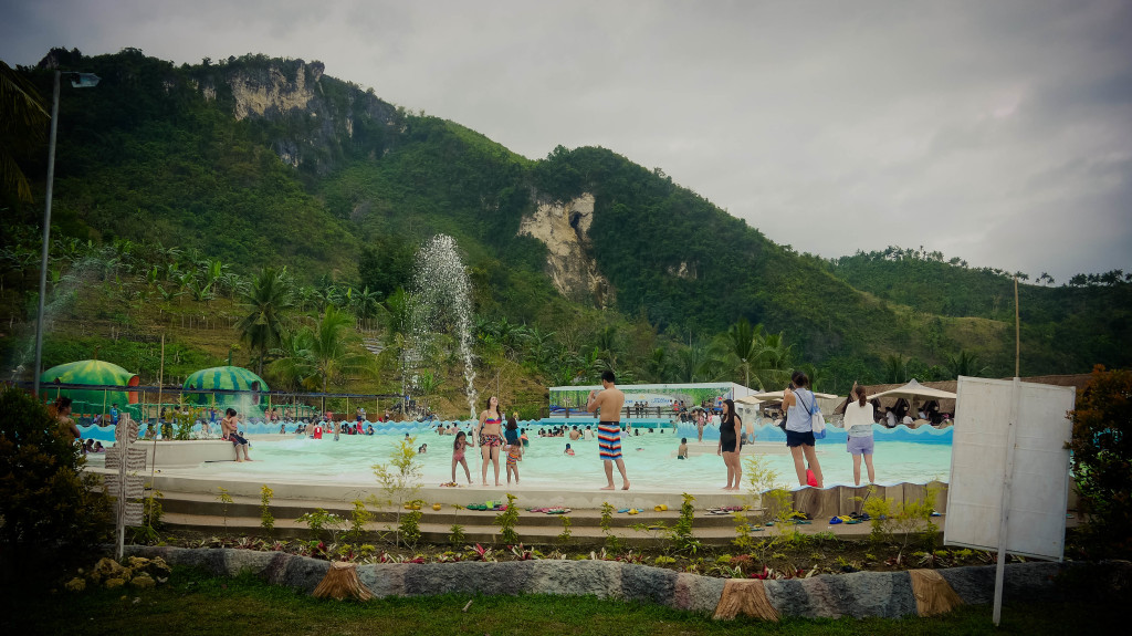 The wave pool