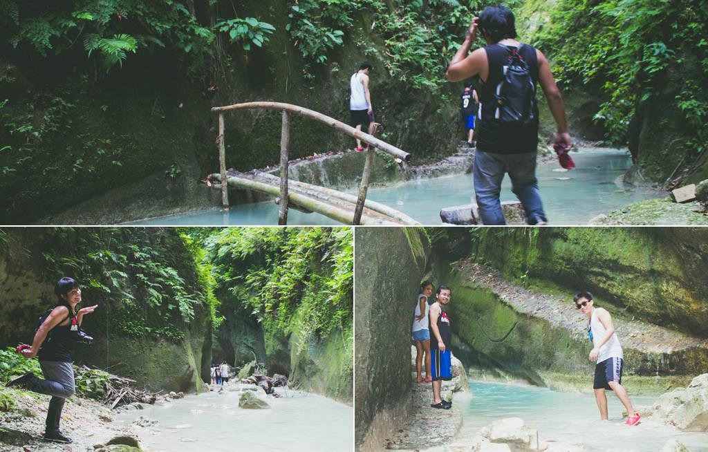Rivers before reaching Dao Falls