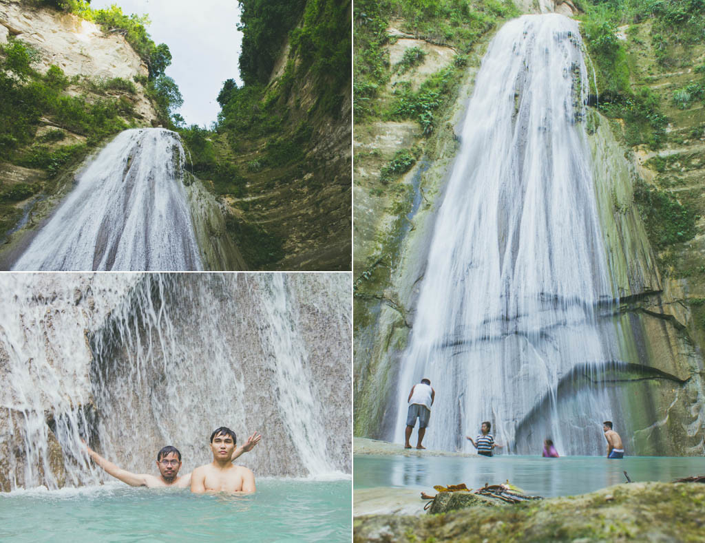 Getting the taste of Dao Falls