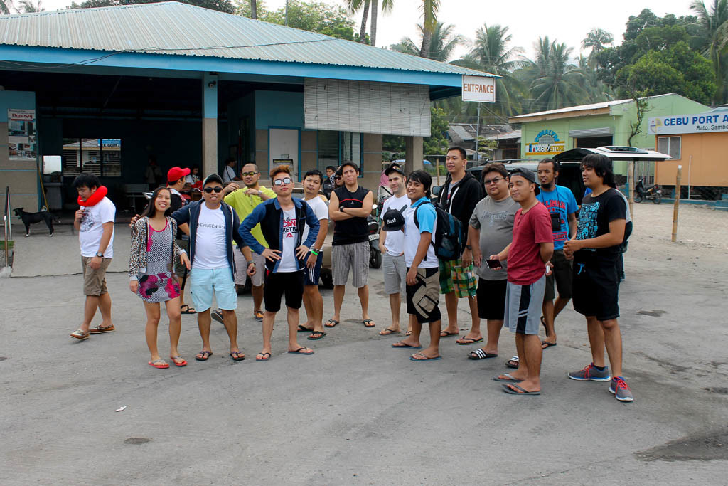 At the port of Bato