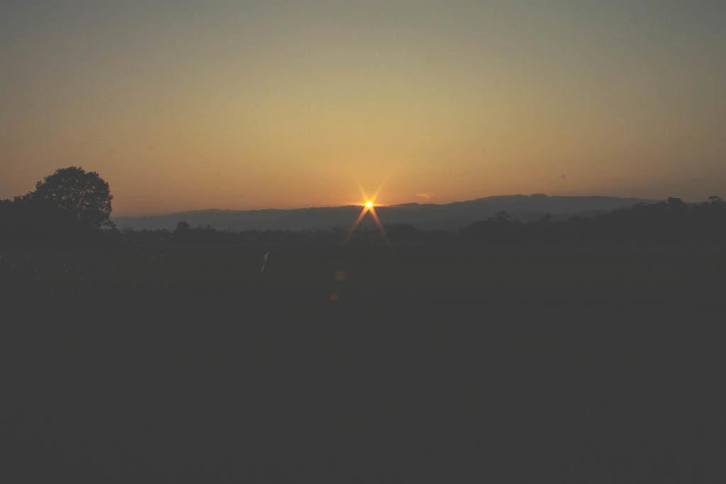 Sunset at Argao, Cebu