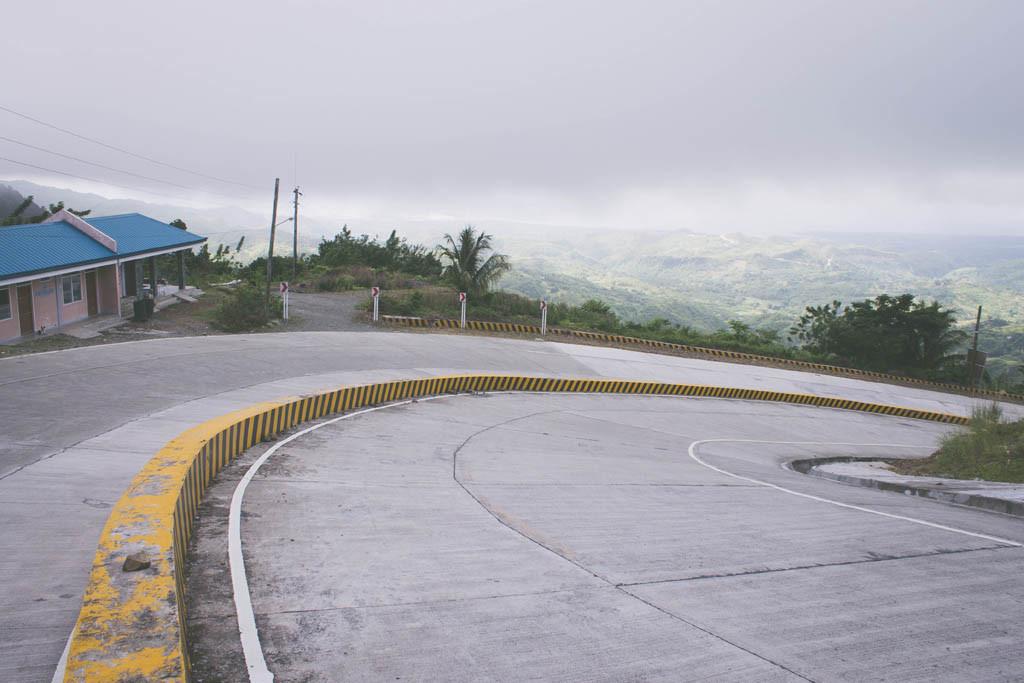 Steep road going to Balamban proper.