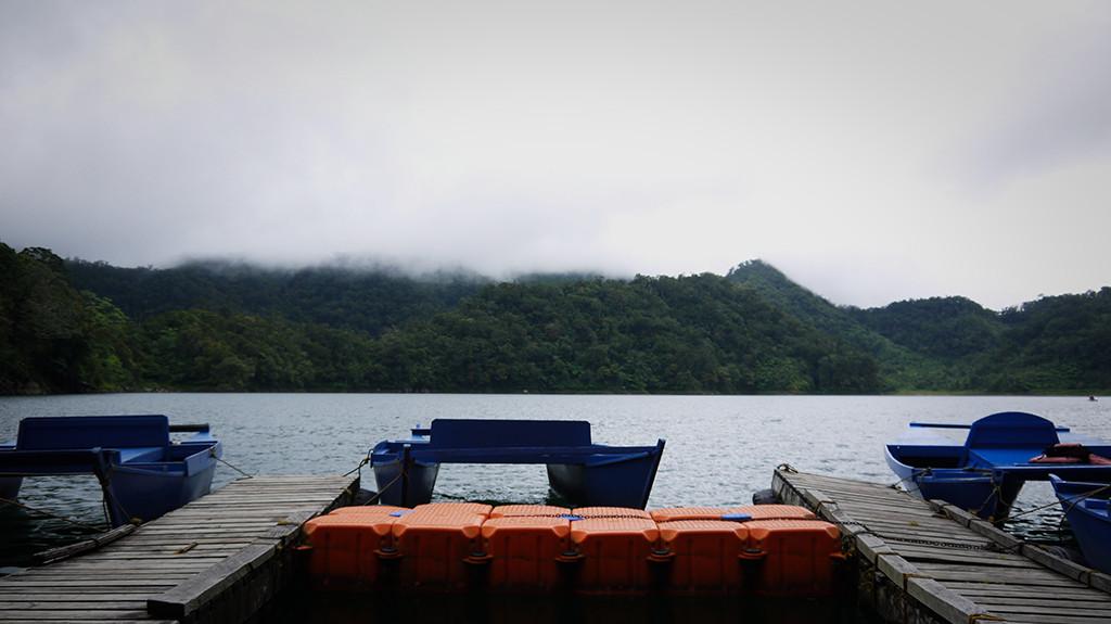 Docking area.