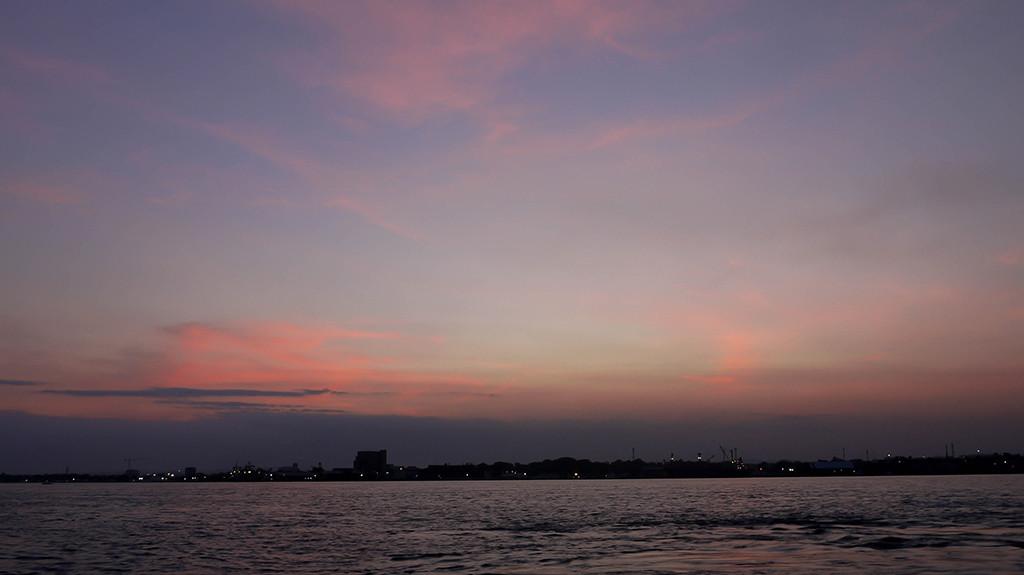 Davao sunset - Going to Sasa Wharf