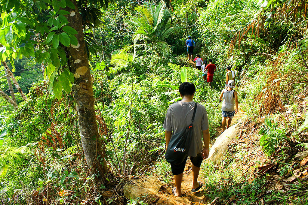 Trail to Recoletos Falls