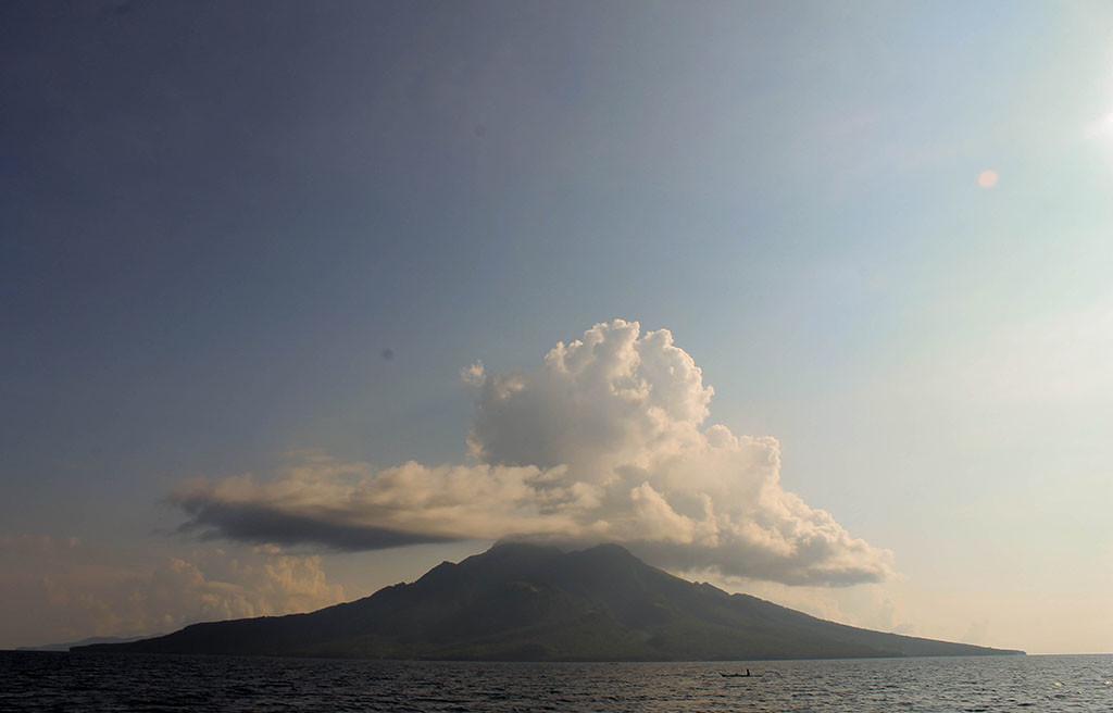The vulcanic island of Maripipi