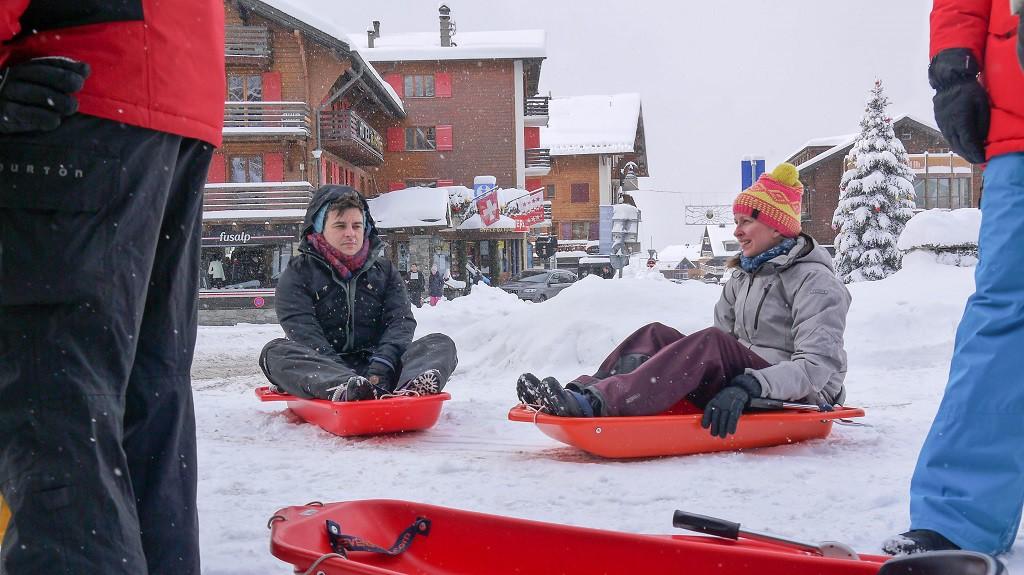 Pre-sledging: Paweł and Anu