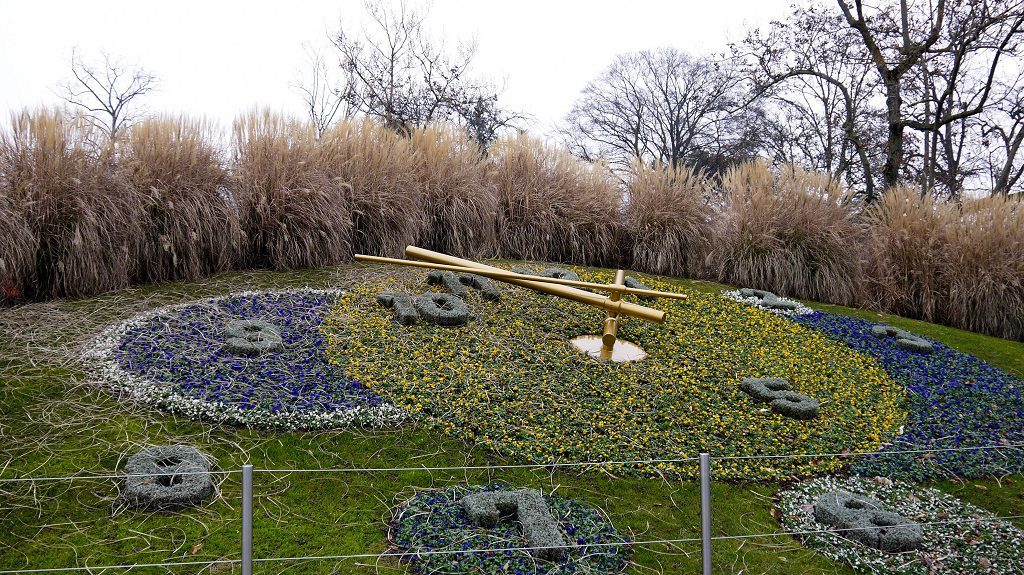 The Flower Clock - Tribute to Geneva's watchmakers