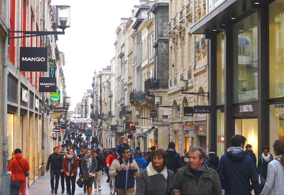 The Avenue des Champs-Élysées of Bordeaux.