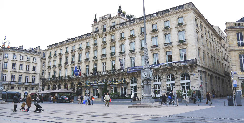 Intercontinental Bordeaux Le Grand Hotel - and if you're a fan of Master Chef, you may try Gordon Ramsay's restaurant.
