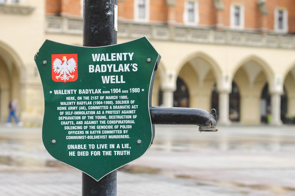 No idea who's Walenty Badylak was. :D