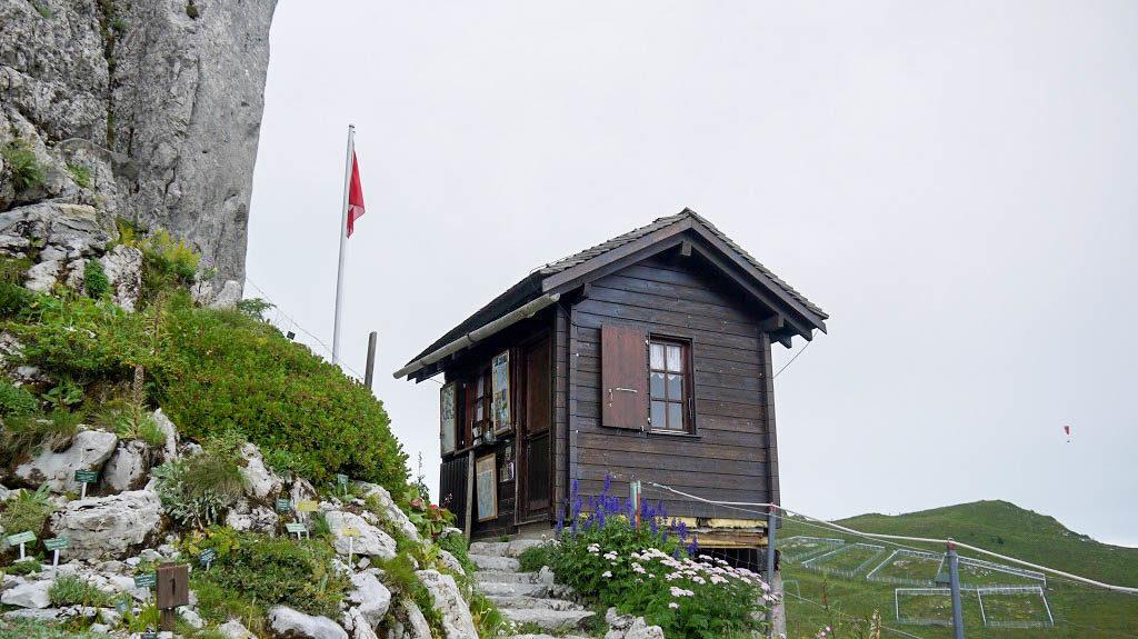 Information office of the Alpine Garden.