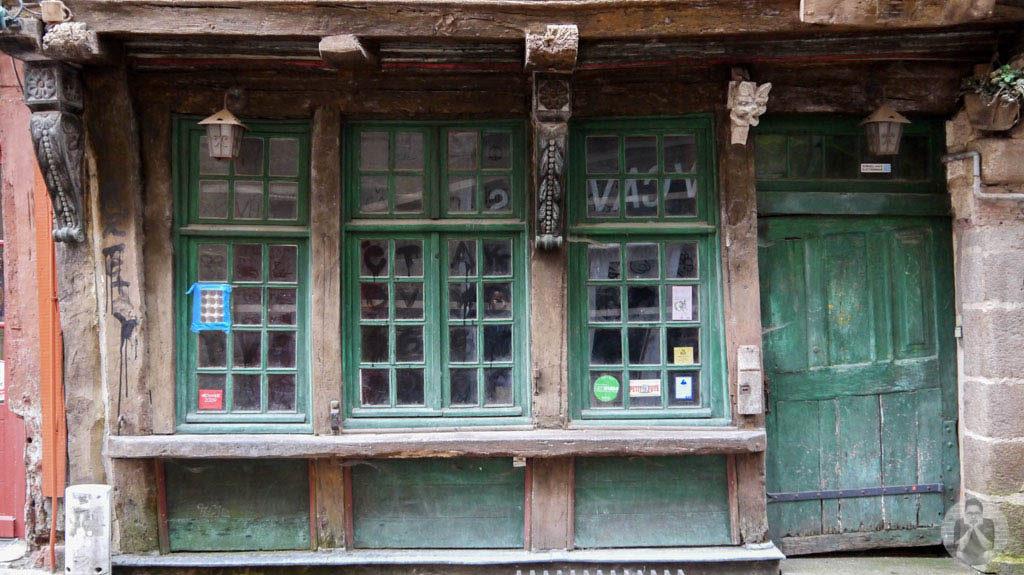 Preserved medieval house