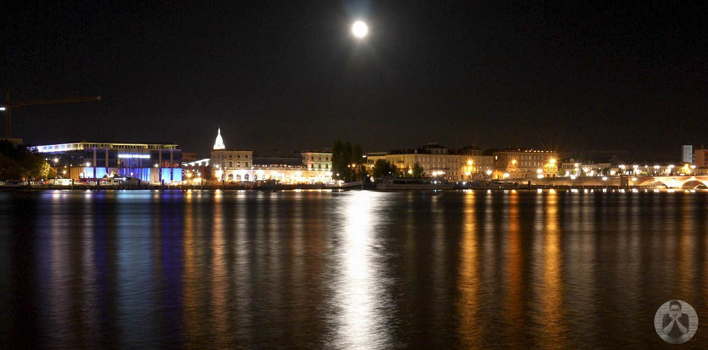 Other side of Garonne River