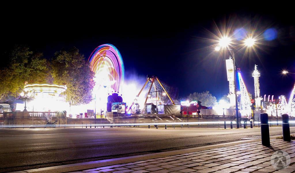 Carnival at night