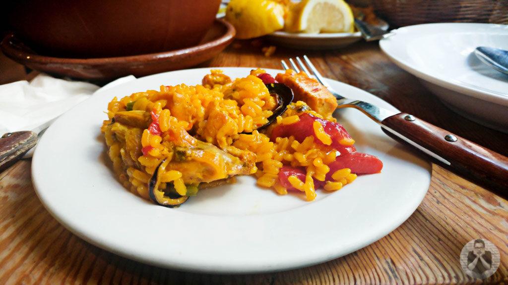 The original paella